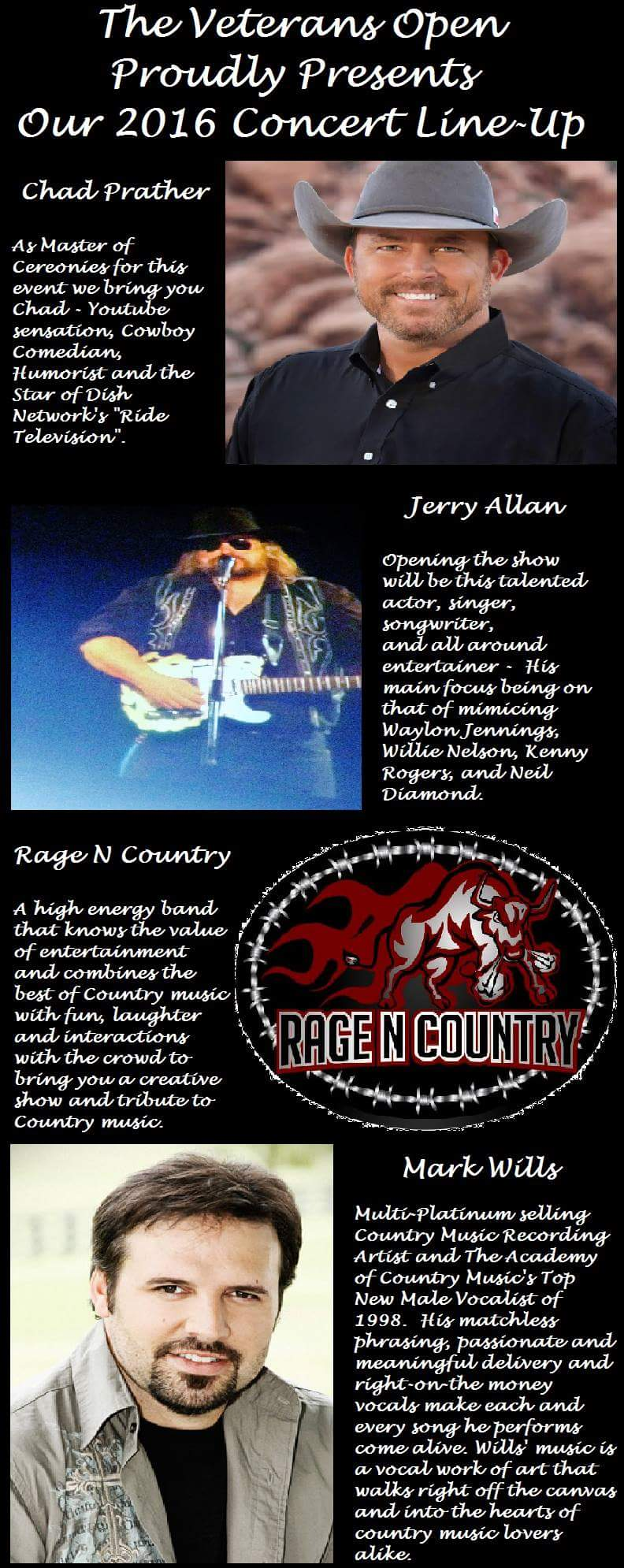 Jerry Allen Concert winter 2016